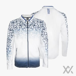 [MAXX] TRACK SUIT 10_White&Blue (상의)